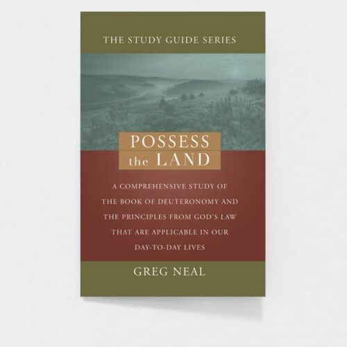 Possess The Land: Pastor Greg Neal