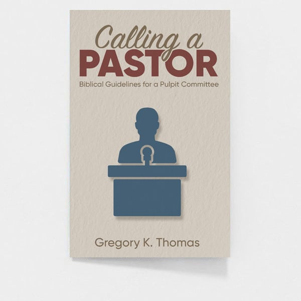 Calling A Pastor: Gregory K Thomas